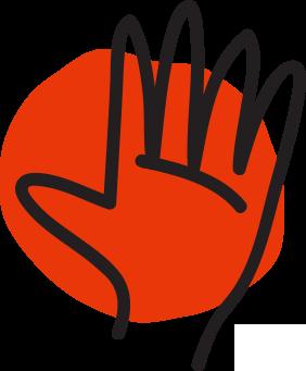 10 Ways: Volunteer Icon