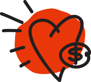 10 Ways: Start A Fundraiser Icon