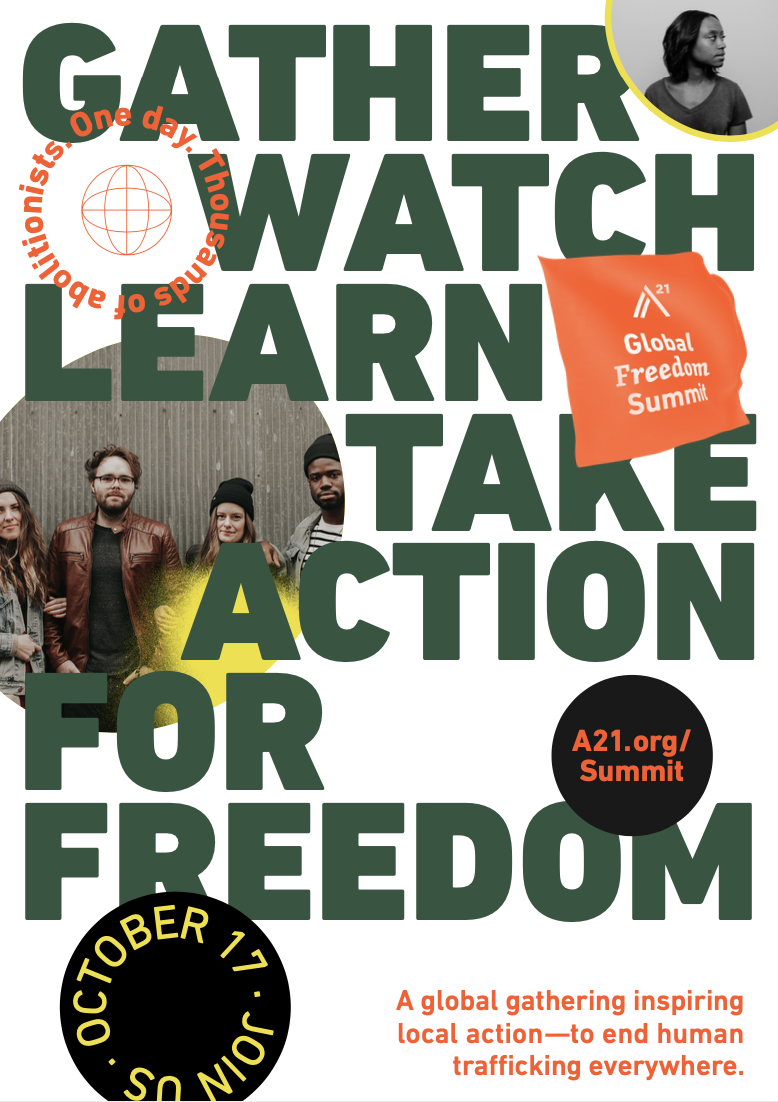 Global Freedom Summit Poster