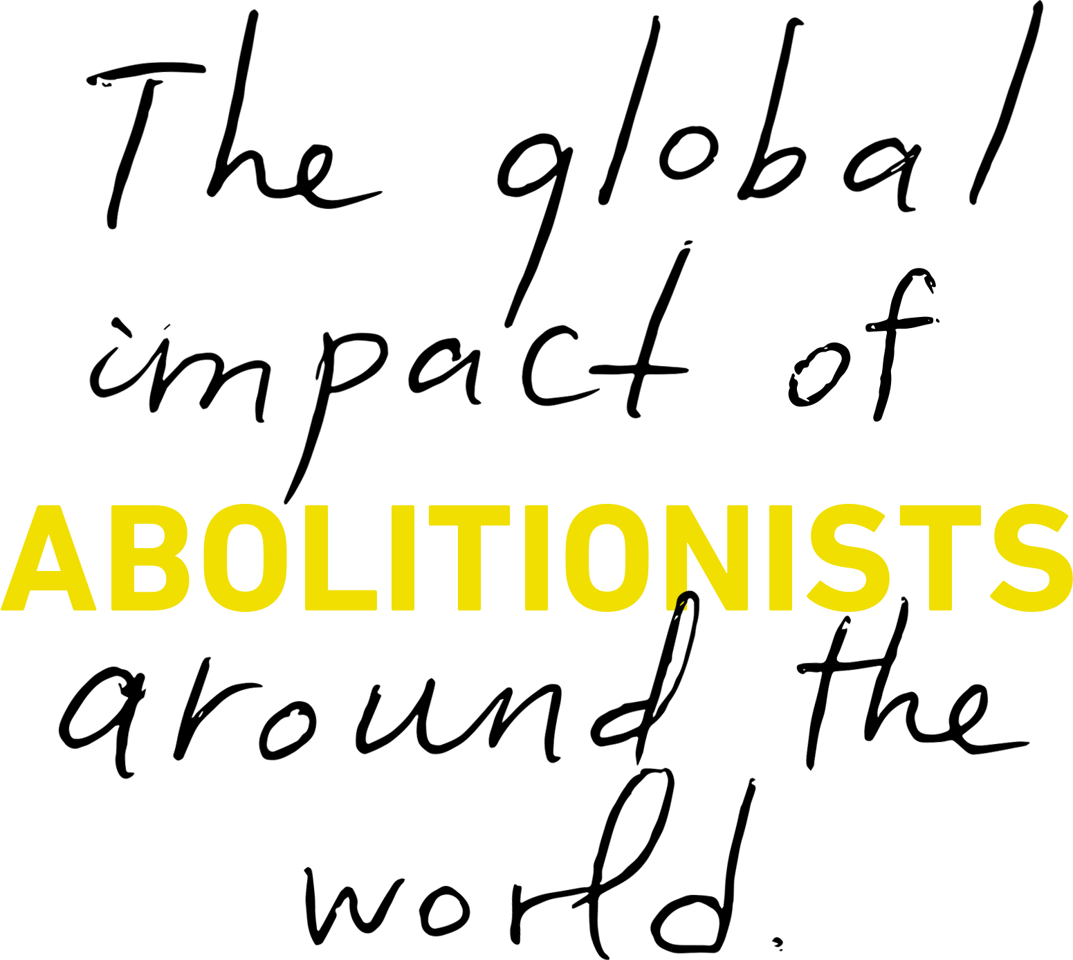 The global impact of abolitionists around the world.
