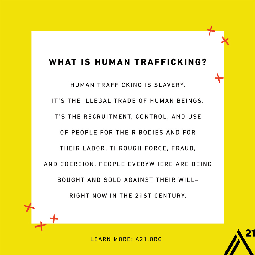 What is Human Trafficking? Facts
