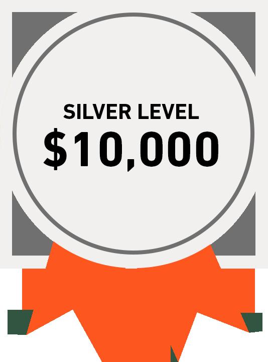 Silver Level: $10,000