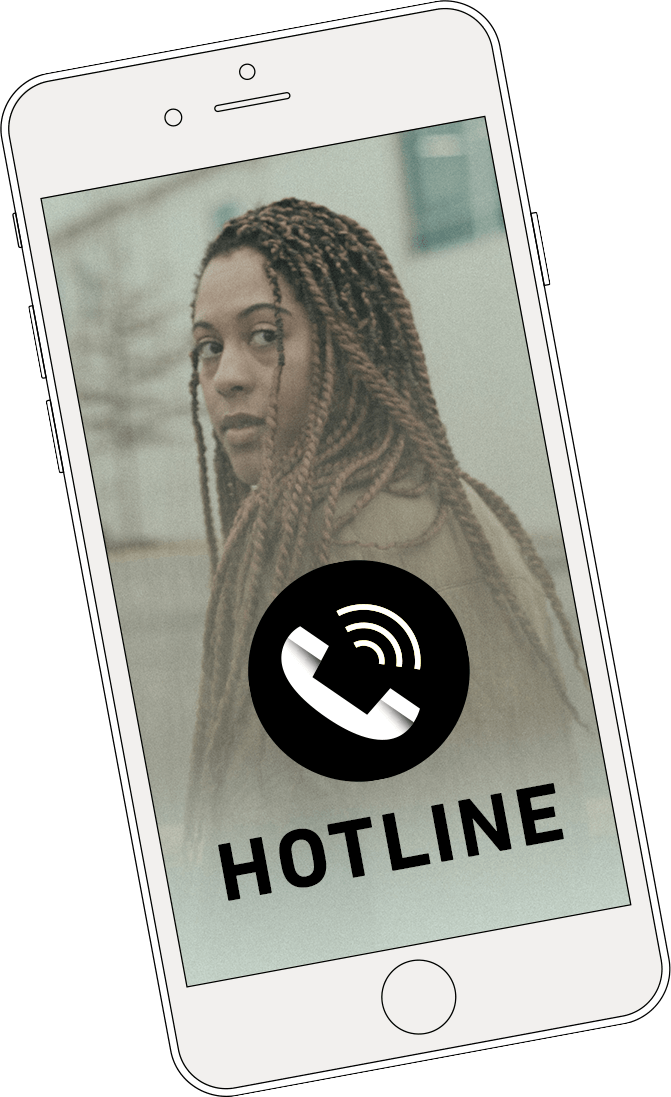 Cellphone Image - Hotline