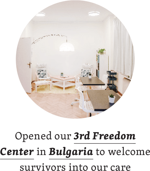 Opened our 3rd Freedom Center in Bulgaria