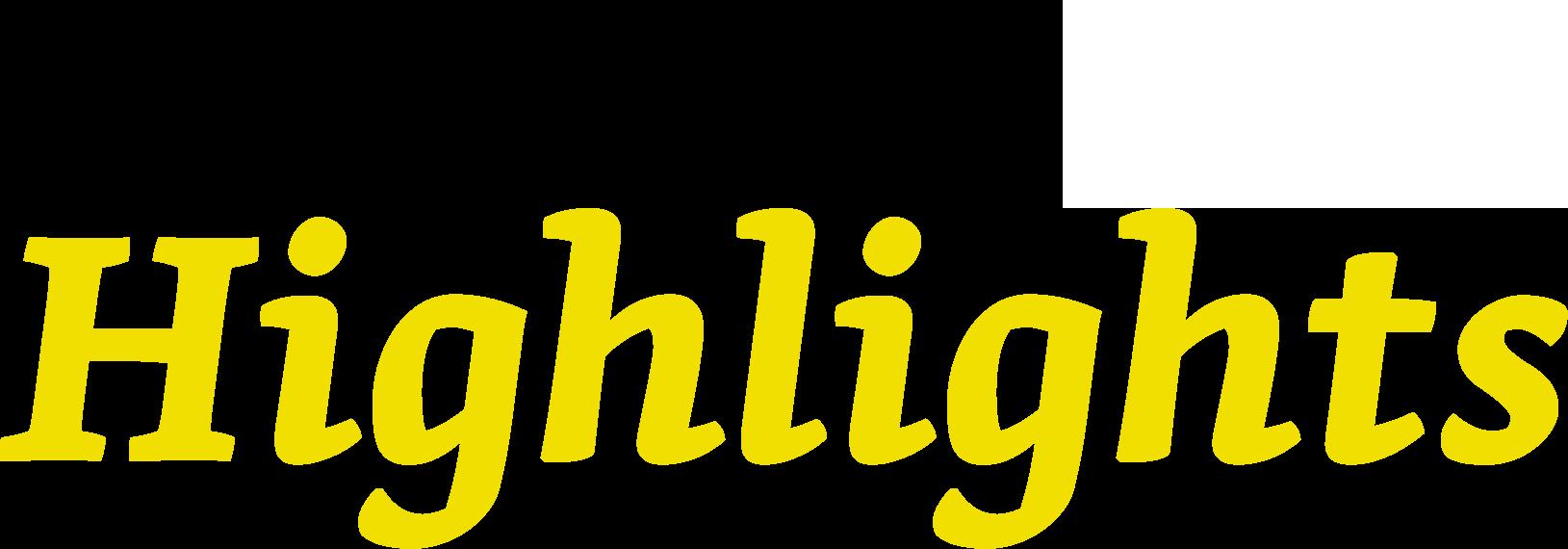 Global Highlights