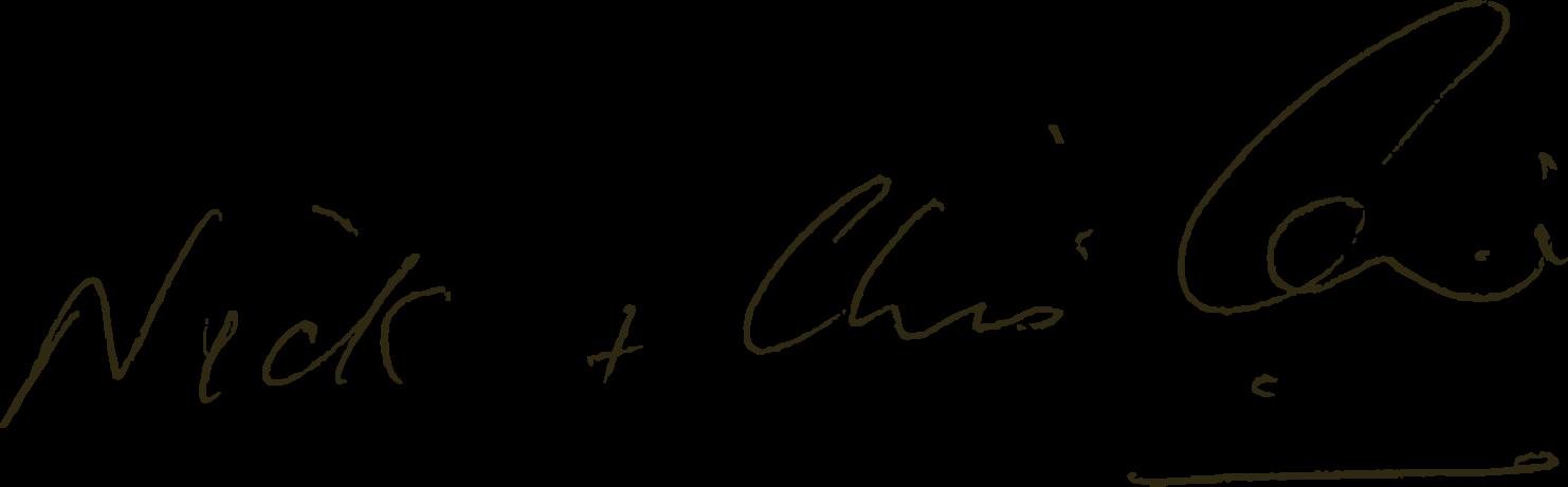 Nick & Christine Caine Signature
