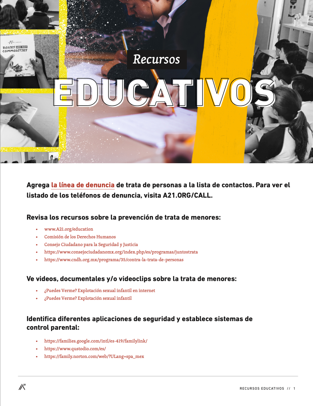 Digital Safety Resource Mexico