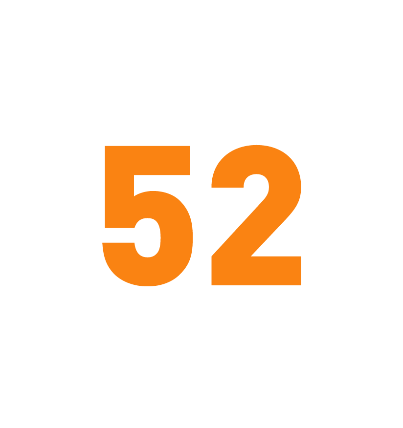 Across 52 cities