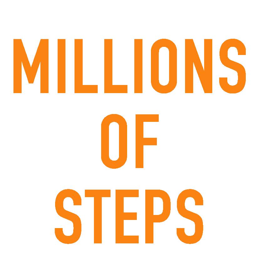 Millions of Steps