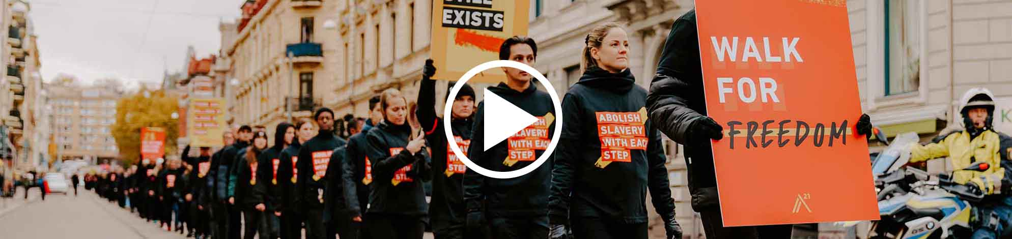 Walk for Freedom Video