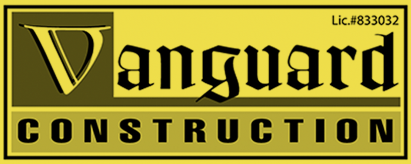 Vanguard Construction Logo