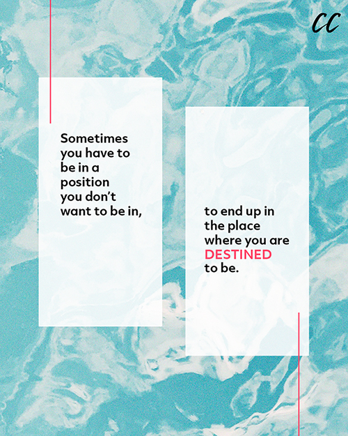 Destined To Be: Social graphic
