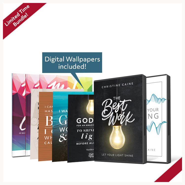 Make It Count bundle: 3 Make It Count books, 4 digital wallpapers,
